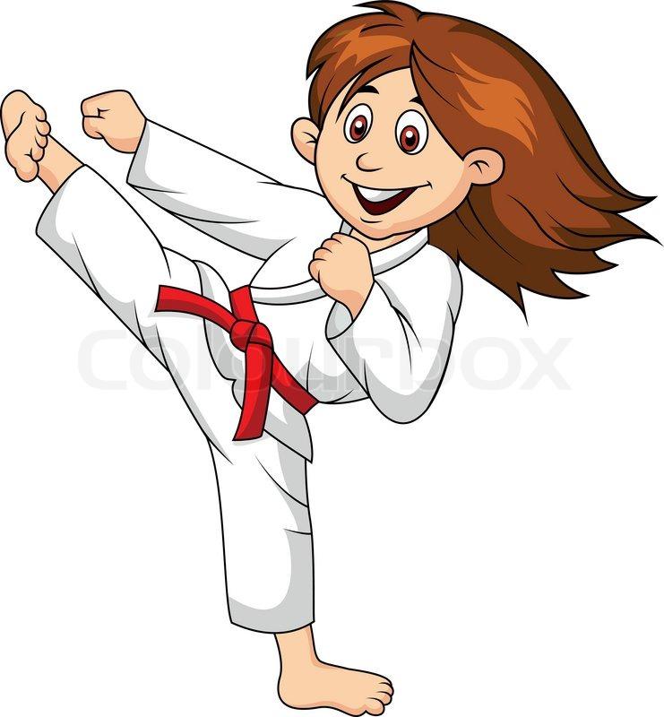 karate kick