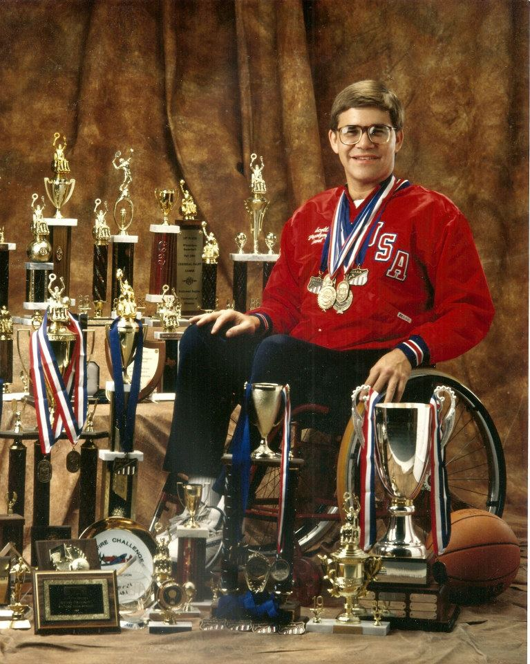 Scott and his medals